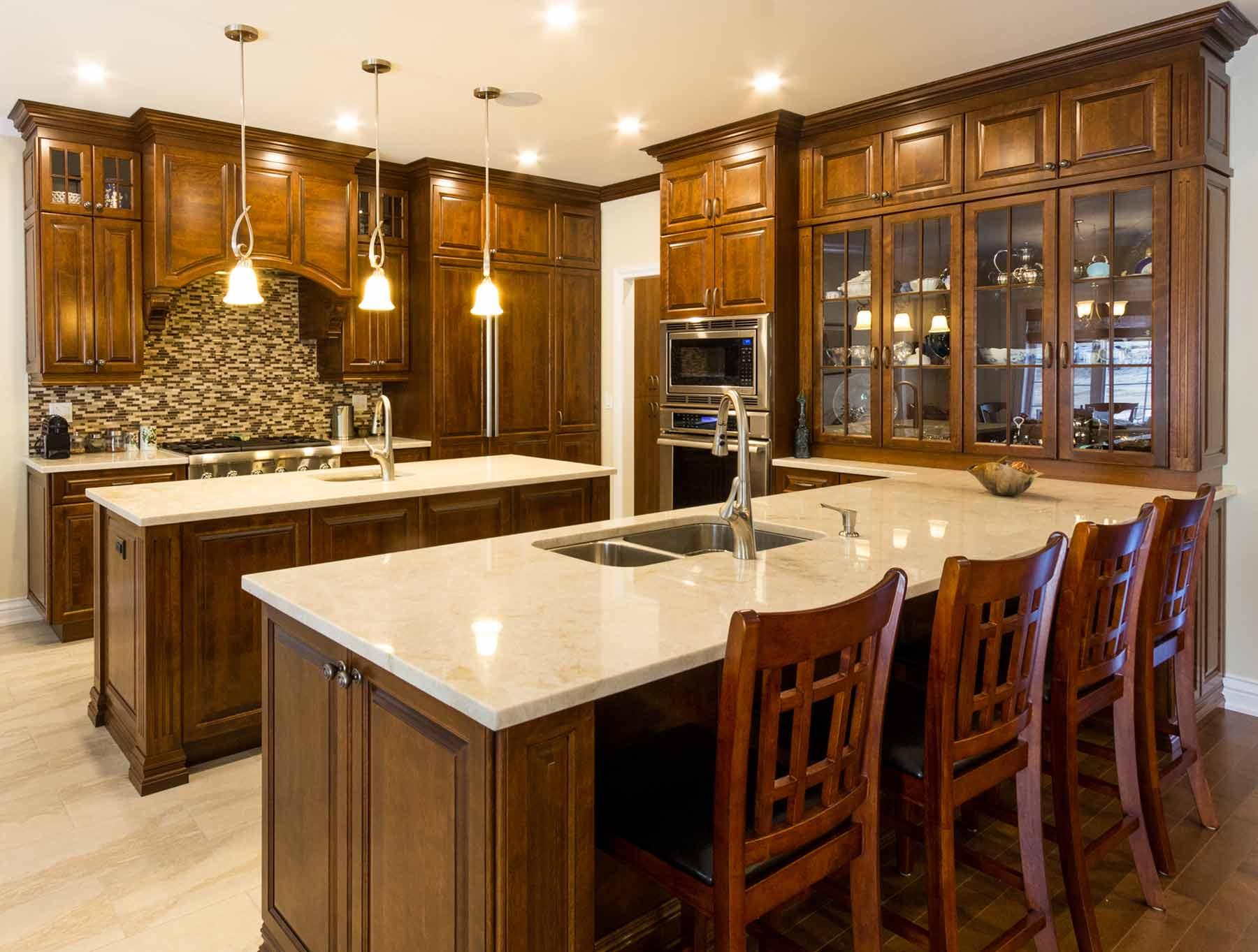 Rénovation d'une cuisine en bois