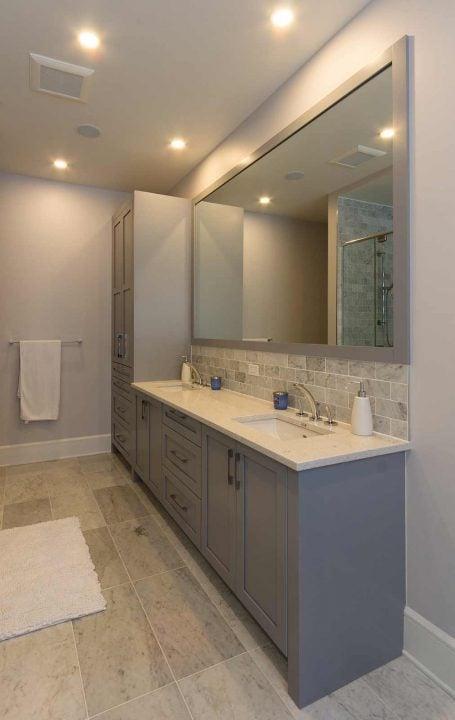 Le résultat d'une rénovation de salle de bain