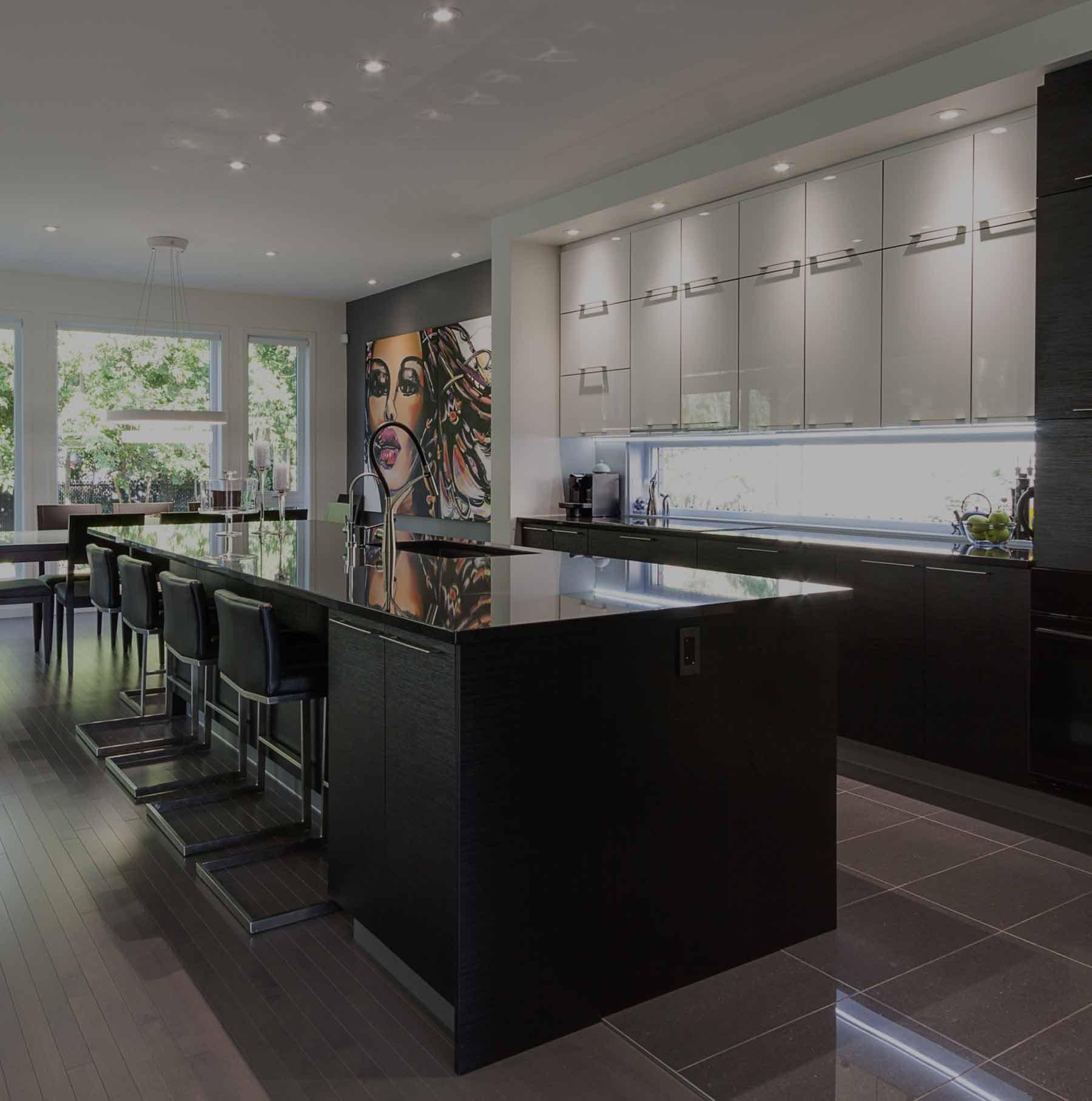 armoires sen cal fils armoire de cuisine design sur mesure. Black Bedroom Furniture Sets. Home Design Ideas