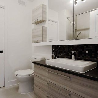 petite salle de bain - Coteau-du-Lac