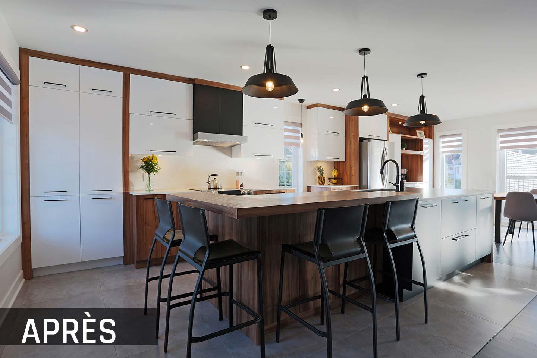 rénovation cuisine Terrebonne - Après