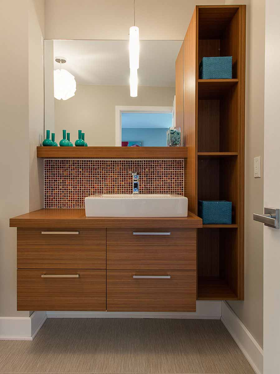 Une salle de bain sur mesure