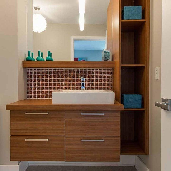 salle de bain sur mesure meubles armoires sen cal fils. Black Bedroom Furniture Sets. Home Design Ideas