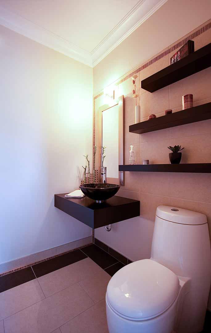 conception sur mesure d'une nouvelle salle de bain